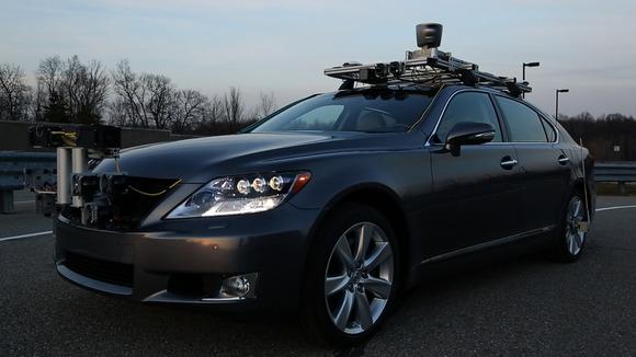 toyota self driving car