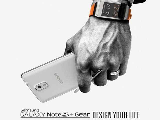 samsung galaxy note 3 galaxy gear
