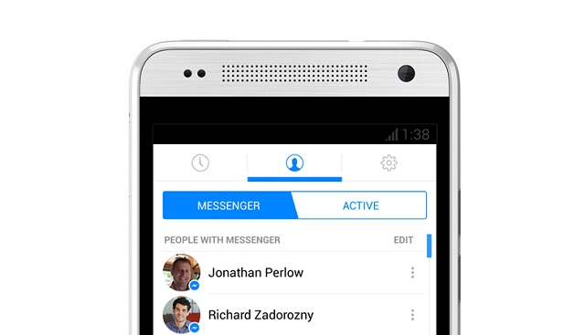 how to allow facebook messenger access to camera in