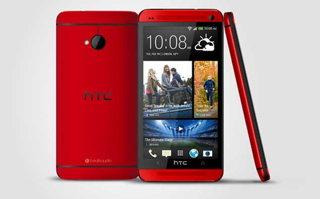 HTC One Mini-on the Road in Red Variant