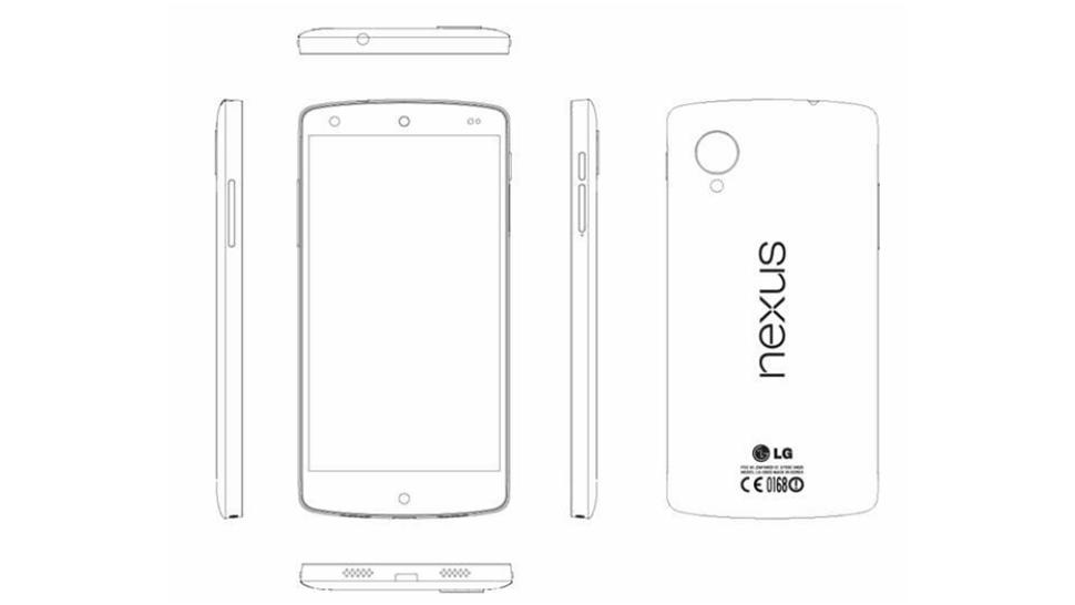 LG Nexus 5 service manual photo