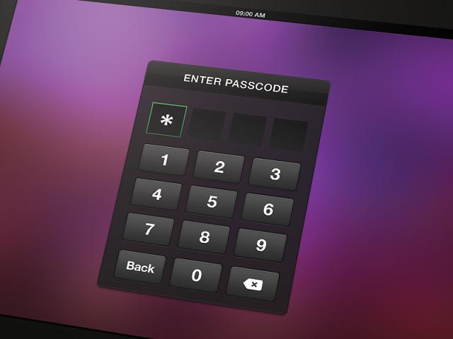 passcode tablet
