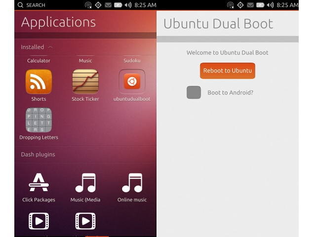 Ubuntu Touch Android dual boot