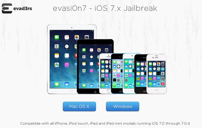 Evad3rs announce iOS 7 jailbreak for iPhone 5S, iPhone 5C, iPad Air