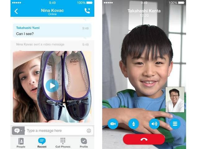 Skype HD calls
