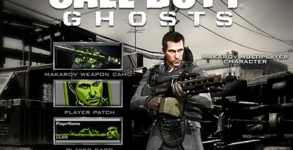 Call of Duty Ghosts Makarov Pack