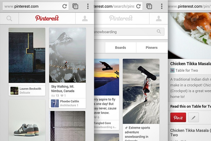 Pinterest web