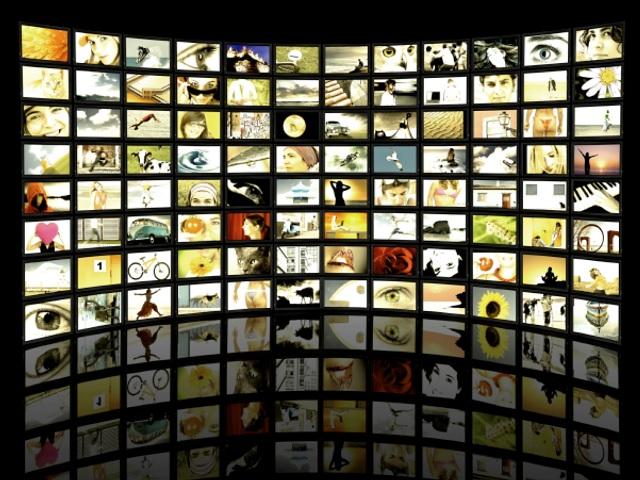 video advertising screen