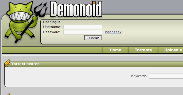 Demonoid is back