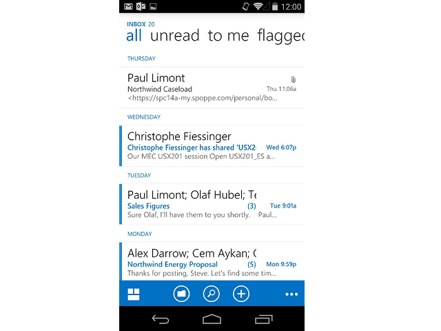 OWA for Android