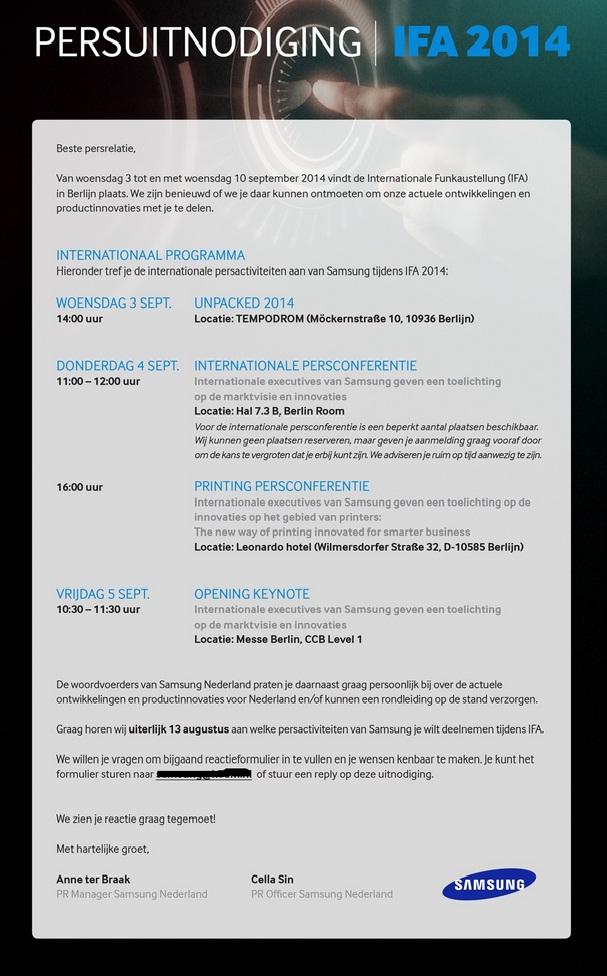 samsungs press invite