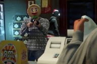 GTA V Christmas Mask