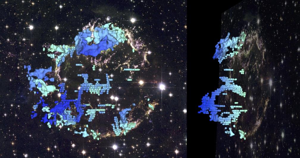 Cas A 3D Map