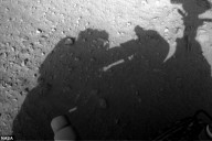 Curiosity Rover Shadow of man header