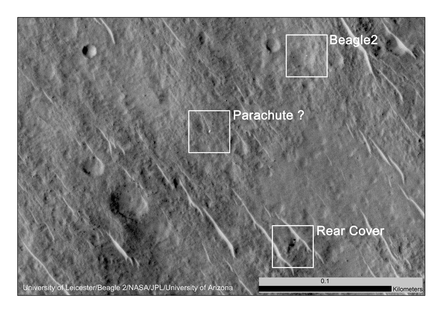 NASA JPL Beagle 2 image