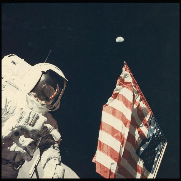Never before seen vintage collection of NASA photos go ...