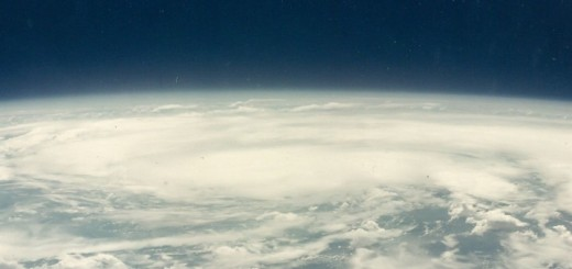 Pacific Ocean from Space