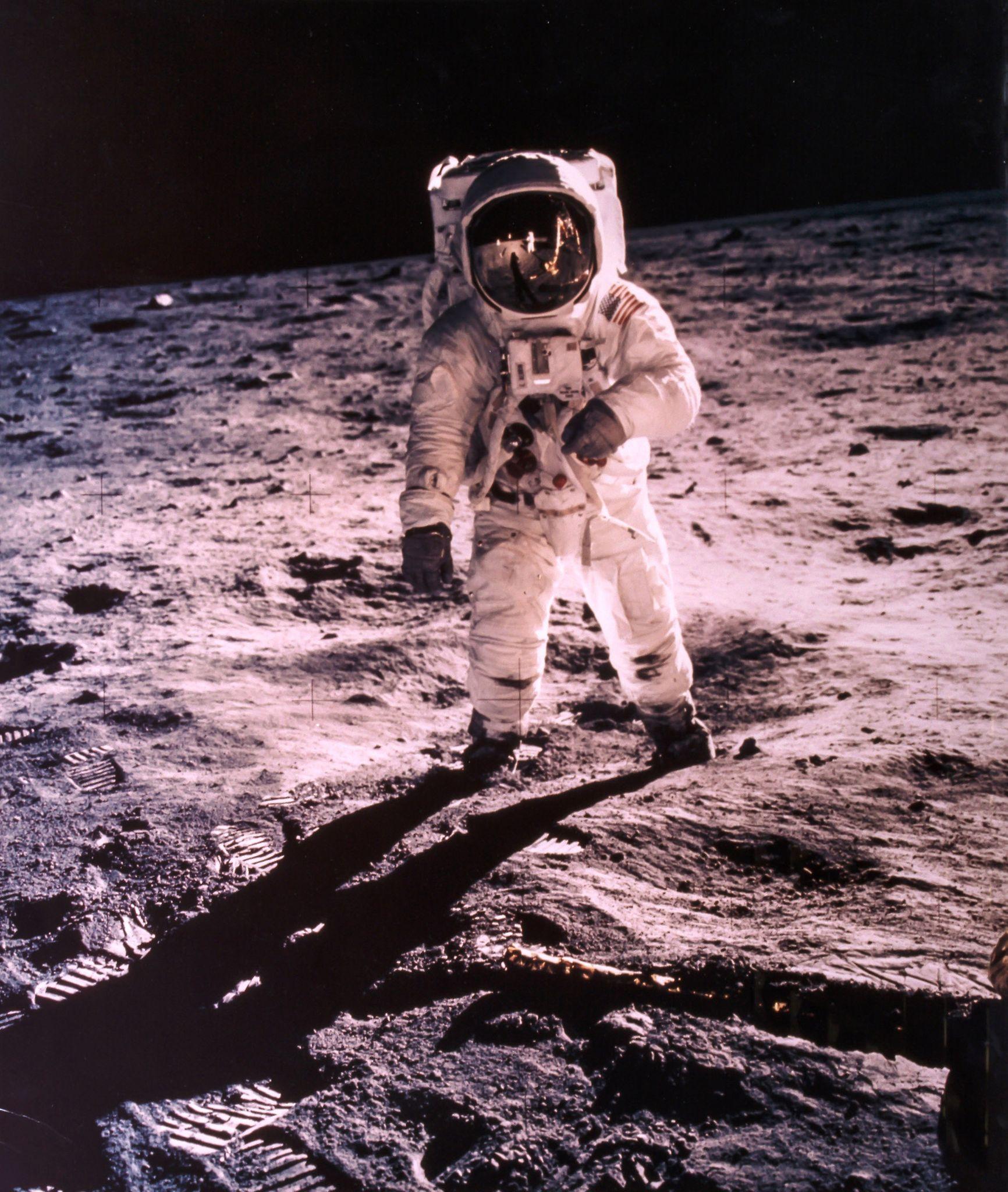 Portrait of Buzz Aldrin