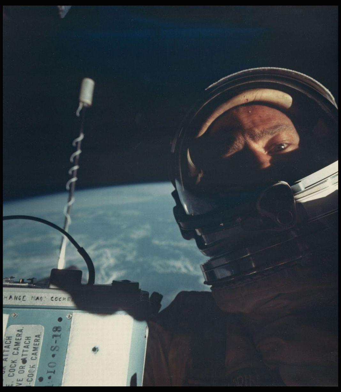 selfie Buzz Aldrin