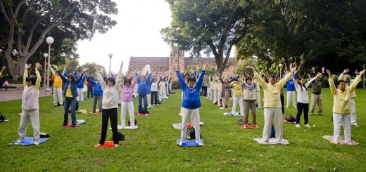 Exercise in Park