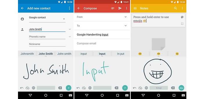 google rolls out new keyboard app 39 google handwriting input 39 techie news. Black Bedroom Furniture Sets. Home Design Ideas