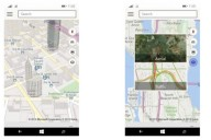 Maps app Windows 10 for Phones