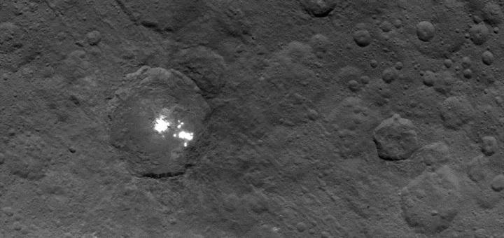 Bright white spots on Ceres make it unique in our Solar ...