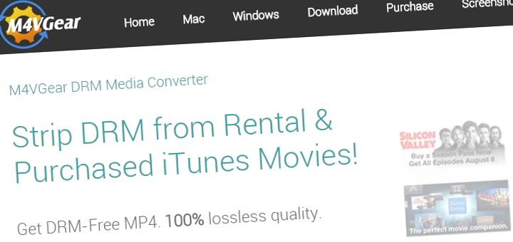 M4VGear iTunes DRM killer is here - M4VGear DRM Media