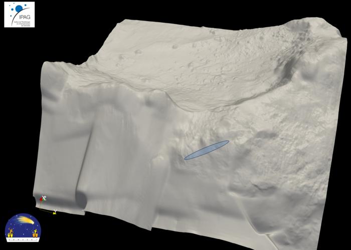 Credits: ESA/Rosetta/Philae/CONSERT