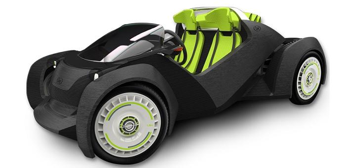 Local Motors Showcases Its First 3d Printed Car Design