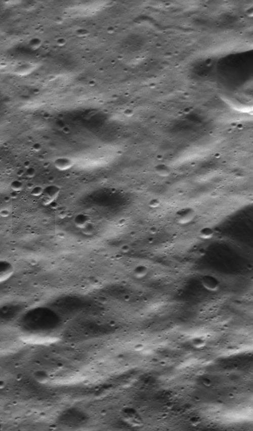 Cassini Dione Closest View 1