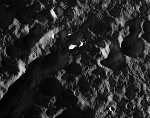 Cassini Dione Closest View 2