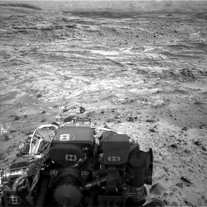 Curiosity Rover Terrain
