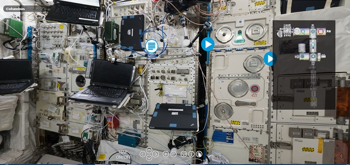 ESA outs International Space Station (ISS) virtual tour