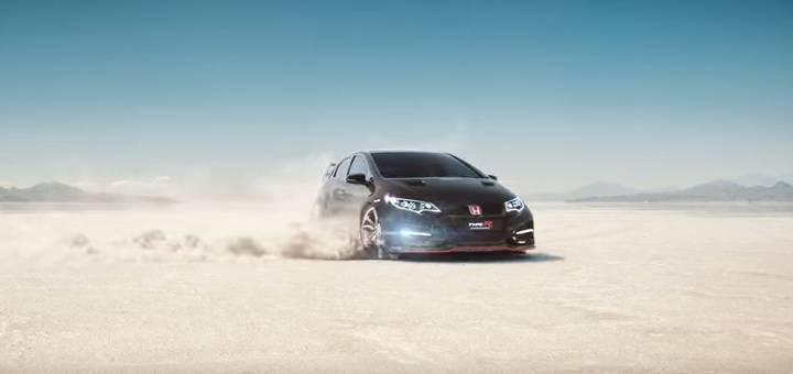 Honda advert called Keep Up banned in the UK