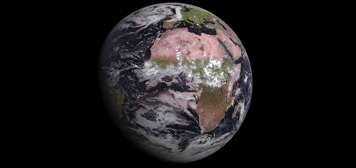 ESA gives a glimpse of MSG-4's capability with Earth's image