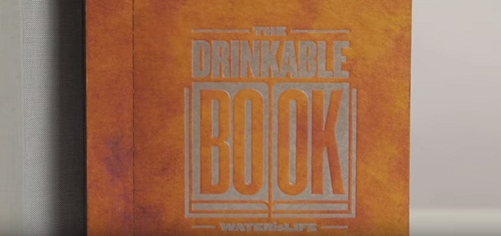 'Drinkable book' packs special paper that can purify drinking water