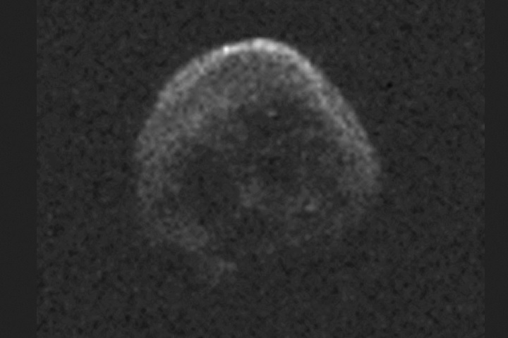 Halloween asteroid is most probably a dead skull-like ...