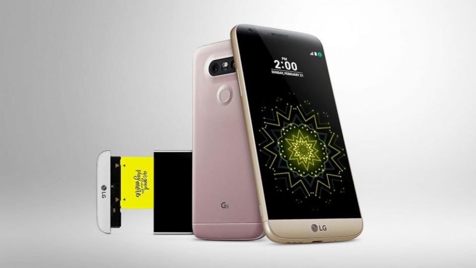 LG G6 smartphone promo material