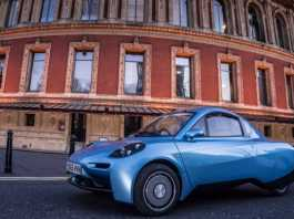 Riversimple Rasa Hydrogen Car