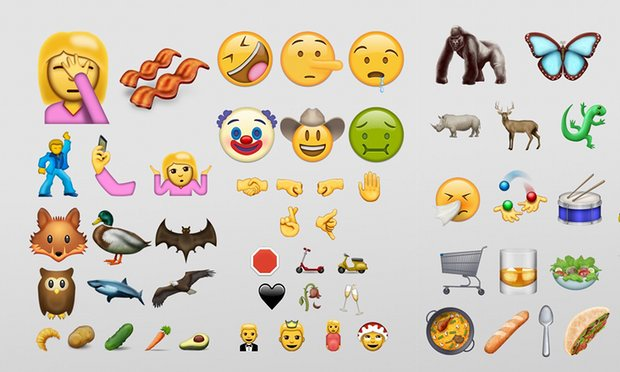 72 new emojis will be launched with the release of Unicode 9. Among them are a selfie face, a facepalm, person doing cartwheel, pregnant woman, avocado and even a bacon.