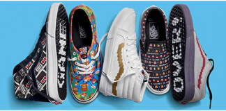 Californian footwear brand Vans has teamed up with Nintendo to create a fashion line that every 90's nerd would want to have – a full clothing range inspired by the epic 90's video games.