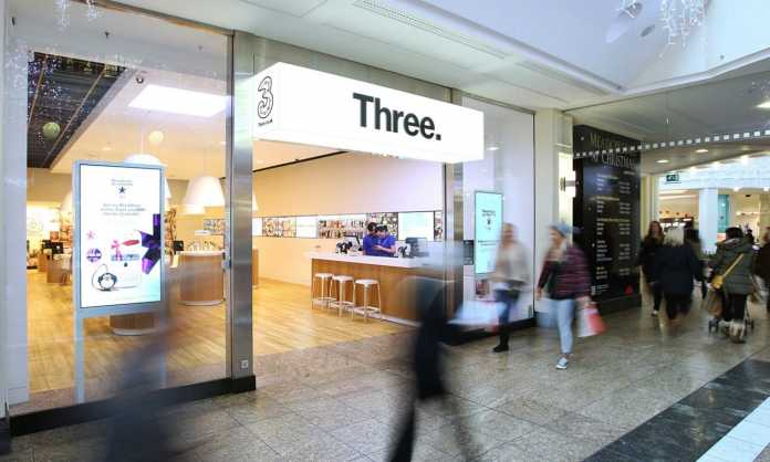 UK telecom company Three has asked Ofcom to limit the amount of spectrum that BT and EE can buy in the next spectrum bid which is about to go down later this year.